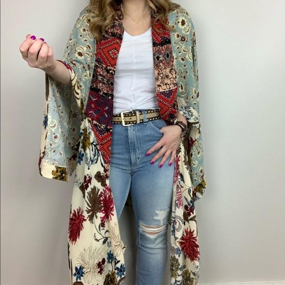 e51315ce9b8 RESTOCKED - Boho Blooms Kimono